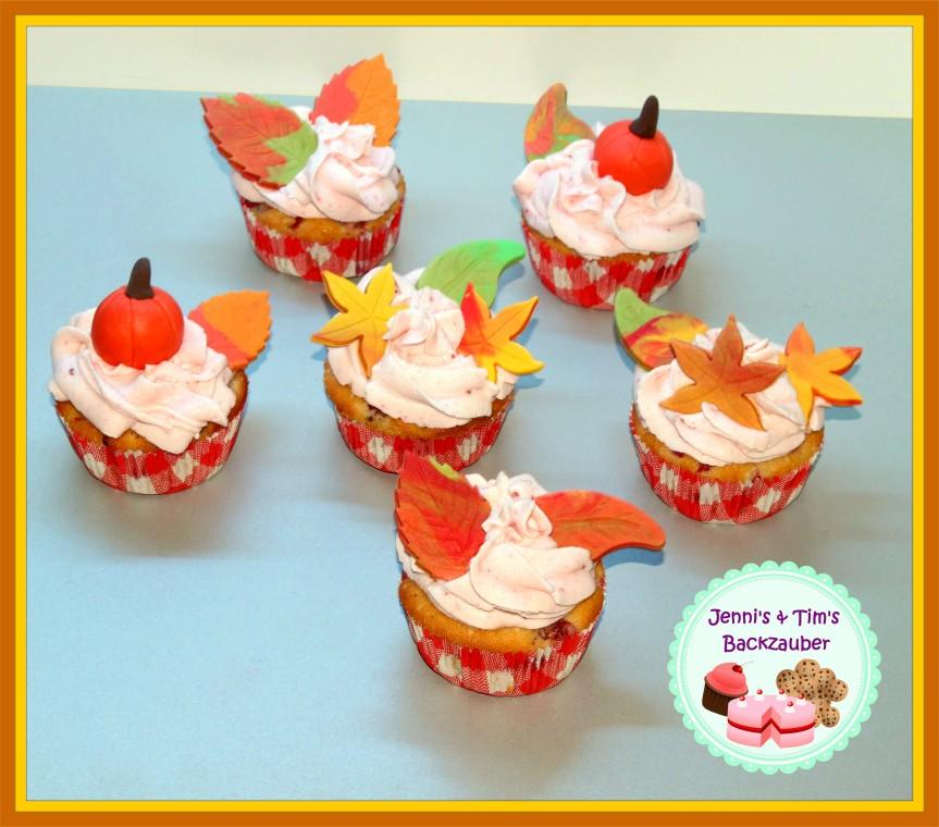 Herbstcupcakes
