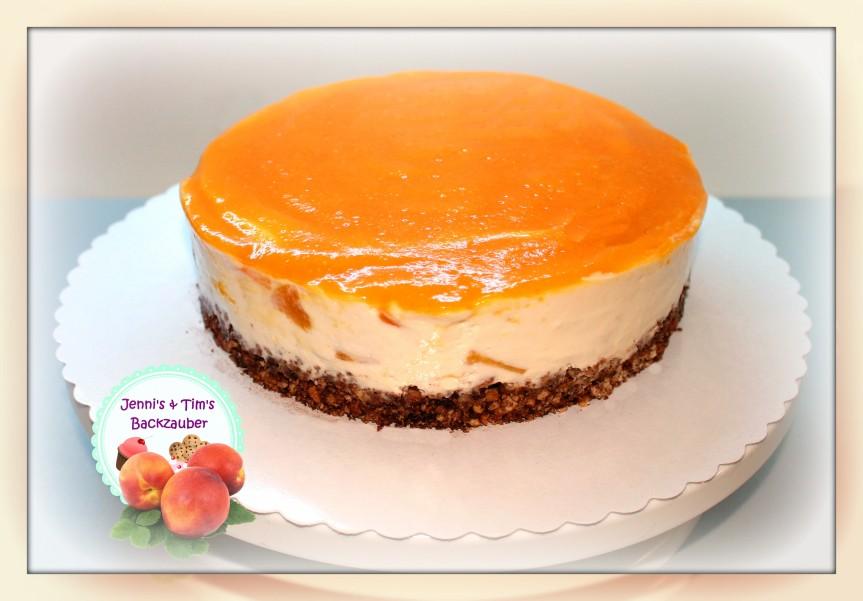 Philadelphia Torte Pfirsich-Maracuja «Kühlschranktorte»