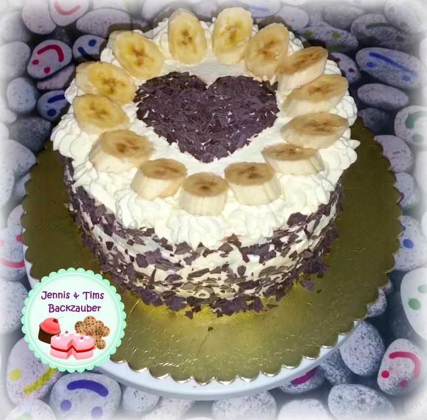 Banana Split Torte